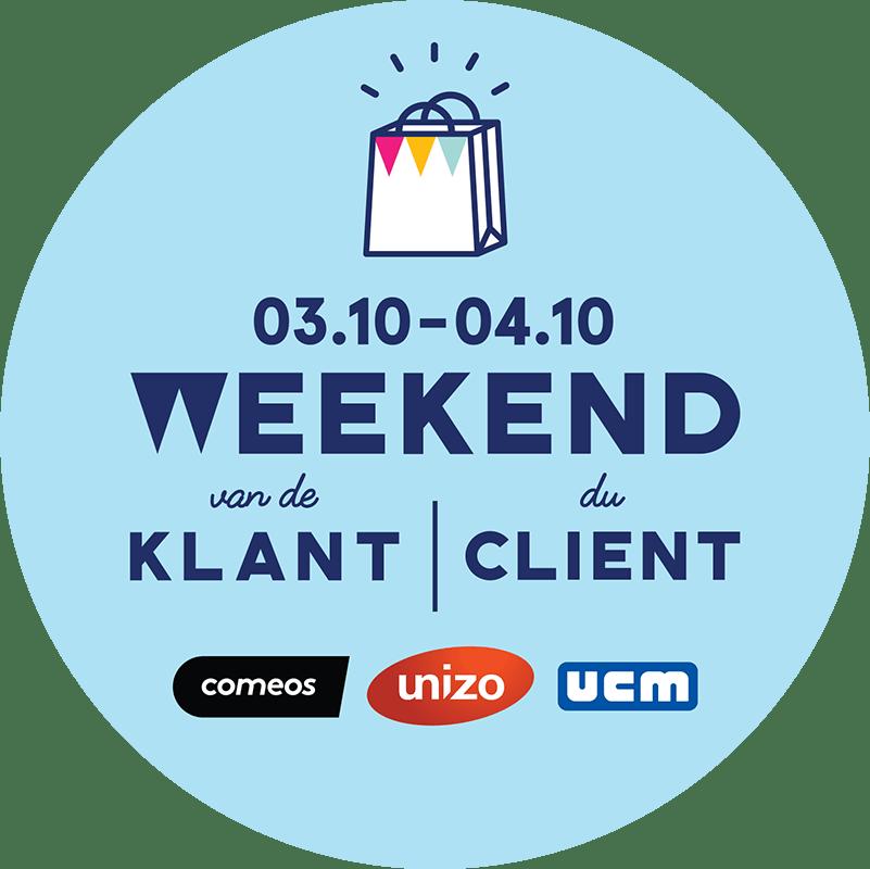 Logo Weekend van de Klant - Weekend du Client